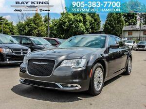 2017 Chrysler 300 TOURING, GPS NAV, SUNROOF, BACKUP CAM