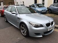 BMW M5 5.0 SMG 2008 (57) FULL BMW HISTORY 2KEY FACELIFT LCI WHITE HEATED LEATHER NEW CLUTCH+FLYWHEEL
