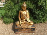 Large life size Buddha ........can deliver....