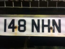 Registration number plate for sale 148 NHN