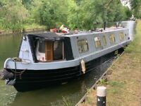 47ft Narrowboat, Fresh Blacking, anodes, new survey, recent Boat Safety.