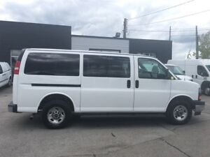 2016 GMC Savana G3500 8PASS. LOADED FIN OR LEASE FROM 4.99OAC