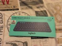 Logitech K830 Bluetooth Keyboard Boxed
