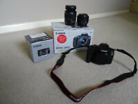 Canon 1300D Kit boxed + Prime 50mm F1.8 STM Boxed Mint Condition Used Few times