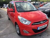 Hyundai i10 1.2 Active 5dr£3,485 p/x welcome FREE 1 YEAR WARRANTY,NEW MOT