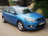 2010 FORD FOCUS TDCI ZETEC 5 DOOR MOTD ELECTRIC BLUE NOT LEON GOLF ASTRA C4 320D 120D 307 308 IBIZA