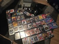 PlayStation 2 Silver in box with 2x controllers 53 Games + More Big Bundle Ps2
