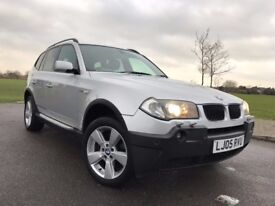 BMW X3 3.0 i Sport ***SATNAV + LEATHER***
