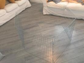6 panel pet play indoor animal folding pen