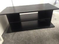 Black Wooden TV Unit For Sale.