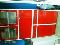vintage retro kitchen cupboards cabinets
