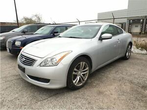 2009 Infiniti G37X PREMIUM**COUPE**SUNROOF**LEATHER**HEATED SEAT