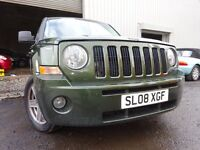 💥08 JEEP PATRIOT LIMITED 4X4 AUTOMATIC 2.4,MOT JUNE 017,1 OWNER,PART HISTORY,STUNING EXAMPLE 4X4💥