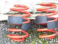 vw transporter t4 lowering springs (65mm drop) good condition