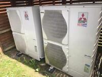 Mitsubishi Air Source Heating System