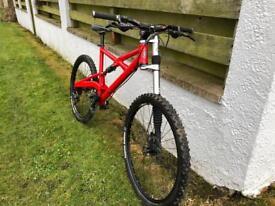 Cannondale mountain bike lefty