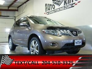 2010 Nissan Murano LE / Leather / Panoramic Roof / LOADED All Wh