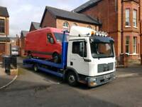 2006 man tgl 180 beavertail recovery truck
