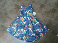 Girls dress aged 10