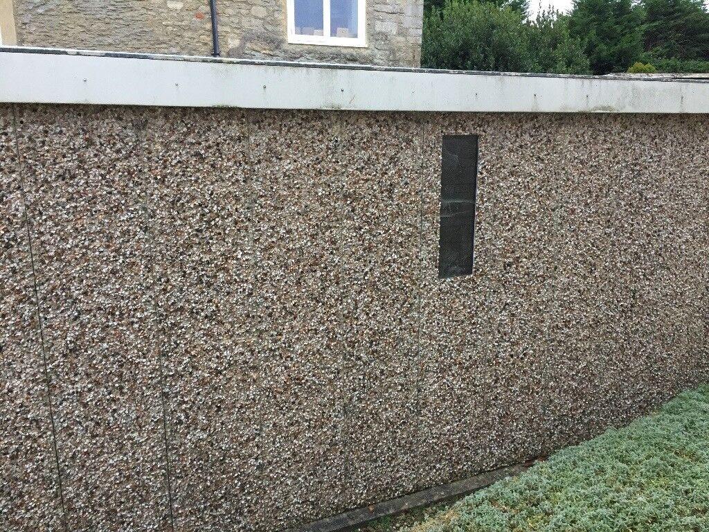 Prefab concrete shed/garage