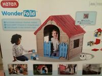 Children wonder fold play house brand new