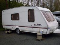 Swift charisma 565 touring caravan for sale