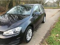 2014 VW GOLF 1.6 TDI TECH SE BLUEMOTION DSG 7 SPEED AUTO
