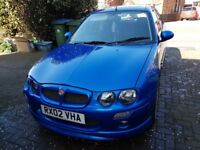 MG ZR Sporty style hatchback, great first car