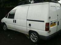 Fiat Scudo 1.9d 2001 Y reg 12 months MOT 115000k, comes with large roof rack & rollers £750 ono