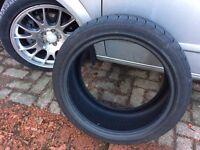 4 x Minerva Ice Plus Winter Tyres. 235/40/18