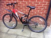 Apollo FS26 adults Mountain Bike - recently serviced