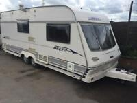 2 BERTH TWIN WHEEL 2001 LUNAR MOTOR MOVER WITH END BATHROOM AND WE CAN DELIVER