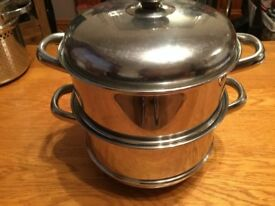 2 Pot Steamers with Lid