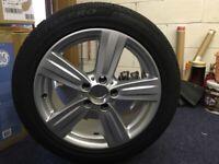 4 X Mercedes 17inch alloy wheels