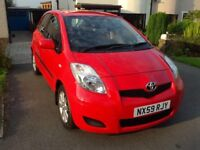 Toyota Yaris TR – Full Toyota Service History 59 Plate 53,980miles