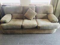 Recently refurbished Sofa & chairs