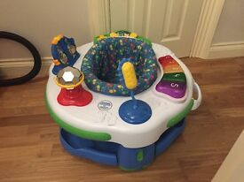 Baby activity centre, £10 or swap for Bombo Seat with tray