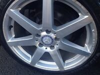 Mercedes Benz Alloys 18 Inch AMG