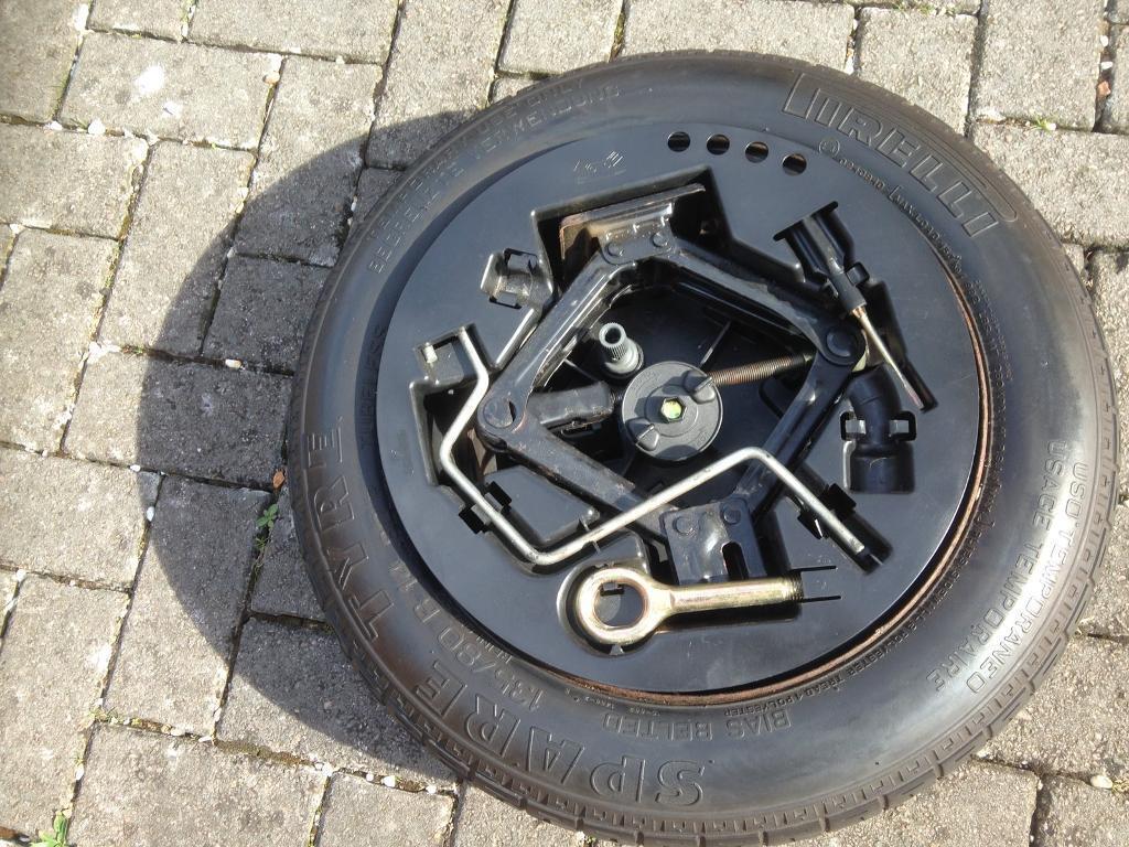Spare Wheel 135/80/B14 Fiat Punto