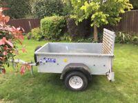 Ifor Williams P5E trailer, excellent condition