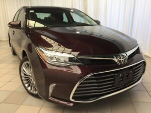 2018 Toyota Avalon Limited: Navigation and Low KMS