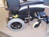 electric wheelchair with attendant control