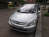07510120534 Peugeot 307 2004 auto automatic petrol estate roof rack year MOT and Tax 5 door serviced