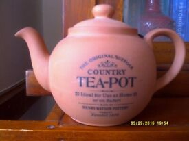 Vintage country teapot