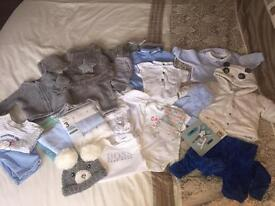 Boys baby bundle all 1month