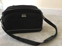Antler, lockable, black travel bag. Never used.