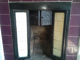 cast iron fireplace The Gold Medal now removed