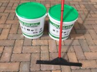 "Epoxy Paving Joint Mortar ""vdw 840 plus"" 1-component 50 Kg. and Free Squeegee"