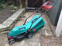 -SOLD- BOSCH Rotak 34-13 **FREE DELIVERY** Electric Rotary Lawn Mower Lawnmower