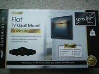 AVF ZML2400 Any Wall Flat To Wall TV Mount UPTO 39INCH TV
